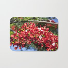 Royal Poinciana Bath Mat