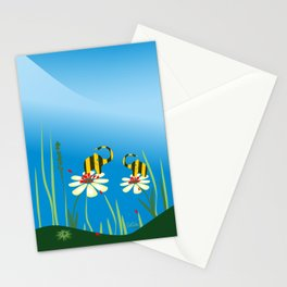 Bumblebees Stationery Cards