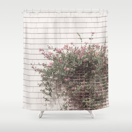 Blooming outside the Green Gables farm house Shower Curtain