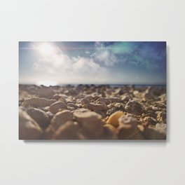 From another world I Metal Print