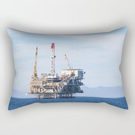 Oil Rig Rectangular Pillow