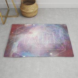 Faith - icosahedron Rug