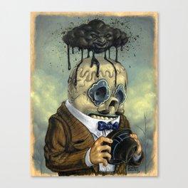 Bad Calavera Time Canvas Print
