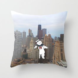 Chicago Invasion Throw Pillow