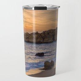 Sunset, Albufeira Travel Mug