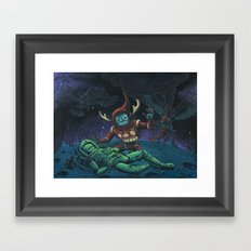 Psychopomp for the Previous Incarnation Framed Art Print