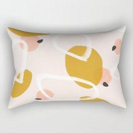 Abstract Fall III #society6 #abstractart Rectangular Pillow