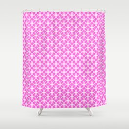 Trellis_Pink Shower Curtain