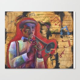Trumpet of Peace Canvas Print