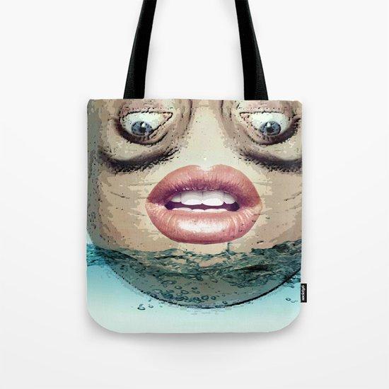 Head above Tote Bag