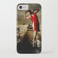 siren iPhone & iPod Cases featuring Siren by Galen Valle