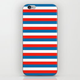 crimea faroe Wichita flag stripes iPhone Skin