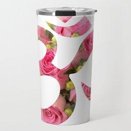 Aum Rose Harmony Om Travel Mug