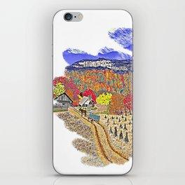 Carolina Autumn Day 4 iPhone Skin