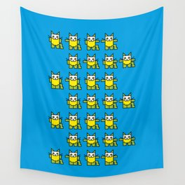 Catroid Pattern Wall Tapestry