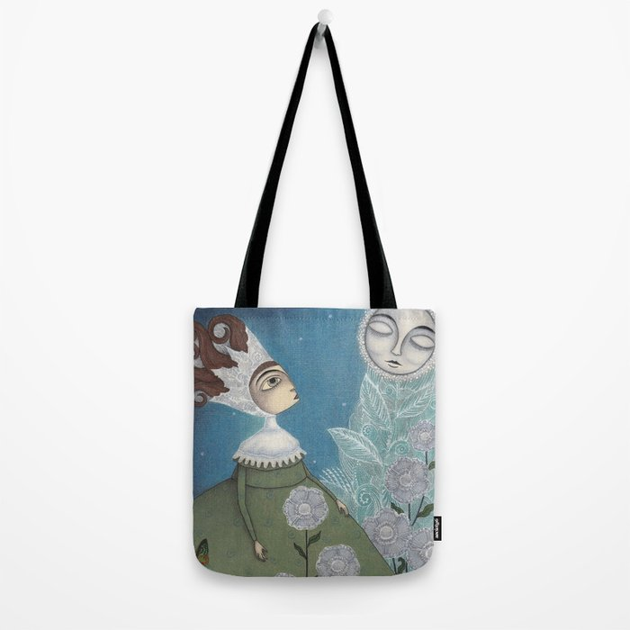 Soon, soon, Winter Moon! Tote Bag