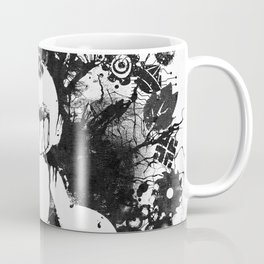 Megaman Geek Ink Blot Test Coffee Mug