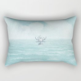The Antlered Ship - Title Page Rectangular Pillow