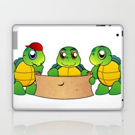 The Adventures of Mr. Turtle Laptop & iPad Skin