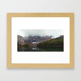 Rawson Lake Framed Art Print