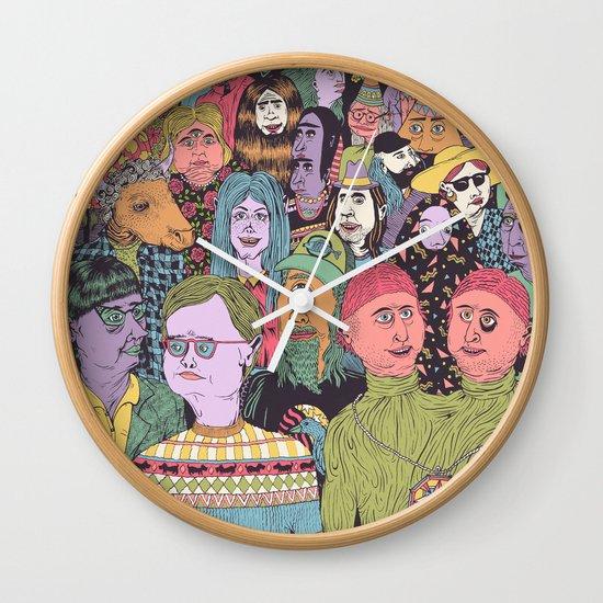 The Gathering Wall Clock
