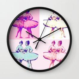Ballet Pop Art Wall Clock
