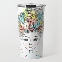 Creativity Flows Travel Mug
