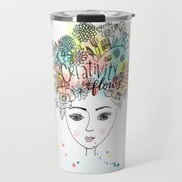 Creativity Flows Travel Mug