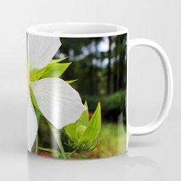 White Swamp Hibiscus Coffee Mug