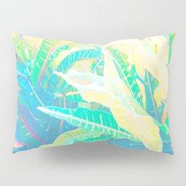 Tropical Croton Leaves 3 Pillow Sham