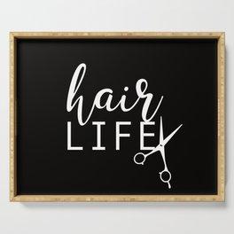 Hair LIFE Serving Tray