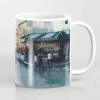 paris Mugs featuring PARIS by Nicolas Jolly