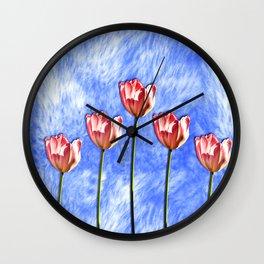Tulip Wall Clock