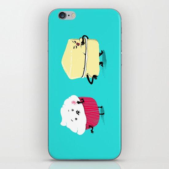 Red PERVERT Cupcake iPhone & iPod Skin