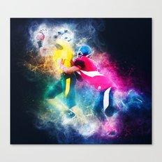 Football Tackle Canvas Print