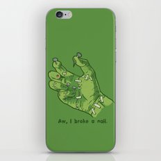 Frankenhand iPhone & iPod Skin