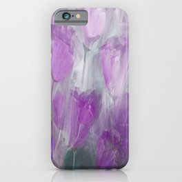Shades of Lilac iPhone Case