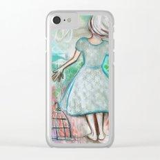 The Bird Catcher Clear iPhone Case