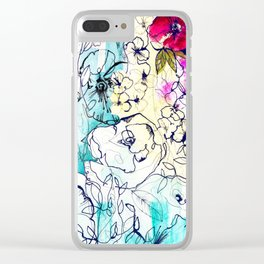 Spring Haze Clear iPhone Case