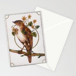 Smallwort - Bird, Flower, Botanical Stationery Cards