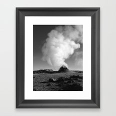 Mývatn Framed Art Print