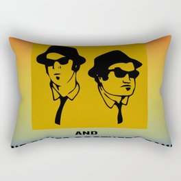 Mission From God Blues Brothers Rectangular Pillow