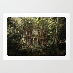 Bramble House Art Print