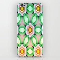Modern Geometric Flower Dance iPhone & iPod Skin