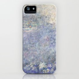 The Water Lilies, The Two Willows - Digital Remastered Edition iPhone Case