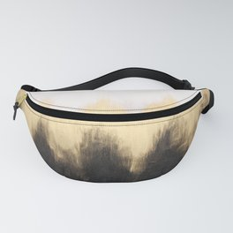 Metallic Abstract Fanny Pack