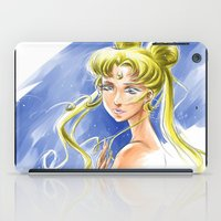 sailormoon iPad Cases featuring Princess Serenity by Keith Gutierrez
