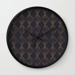 Geo Prisim Wall Clock