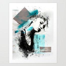 M.M. (no. 2) Art Print