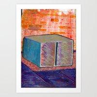 Donald Judd Machined Al Art Print